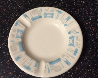 Vintage Grocery Store Give-Away Ashtray 1960s