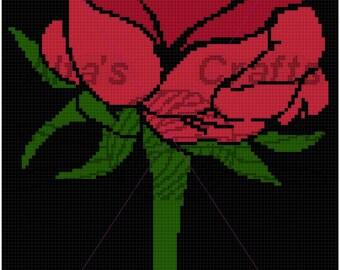 Rose Blanket Pattern
