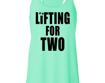 Lifting For Two - Maternity Tank