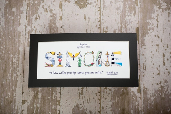 Baby dedication gift personalized christian gifts like this item negle Gallery
