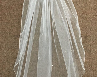 Hidden Mickey Wedding Veil - Elbow Length
