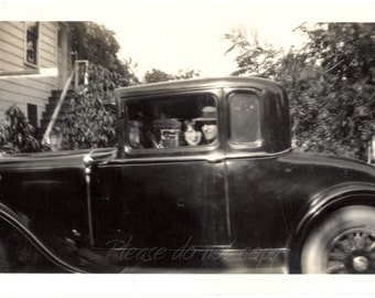 Bonnie & Clyde ~ Vintage Photo