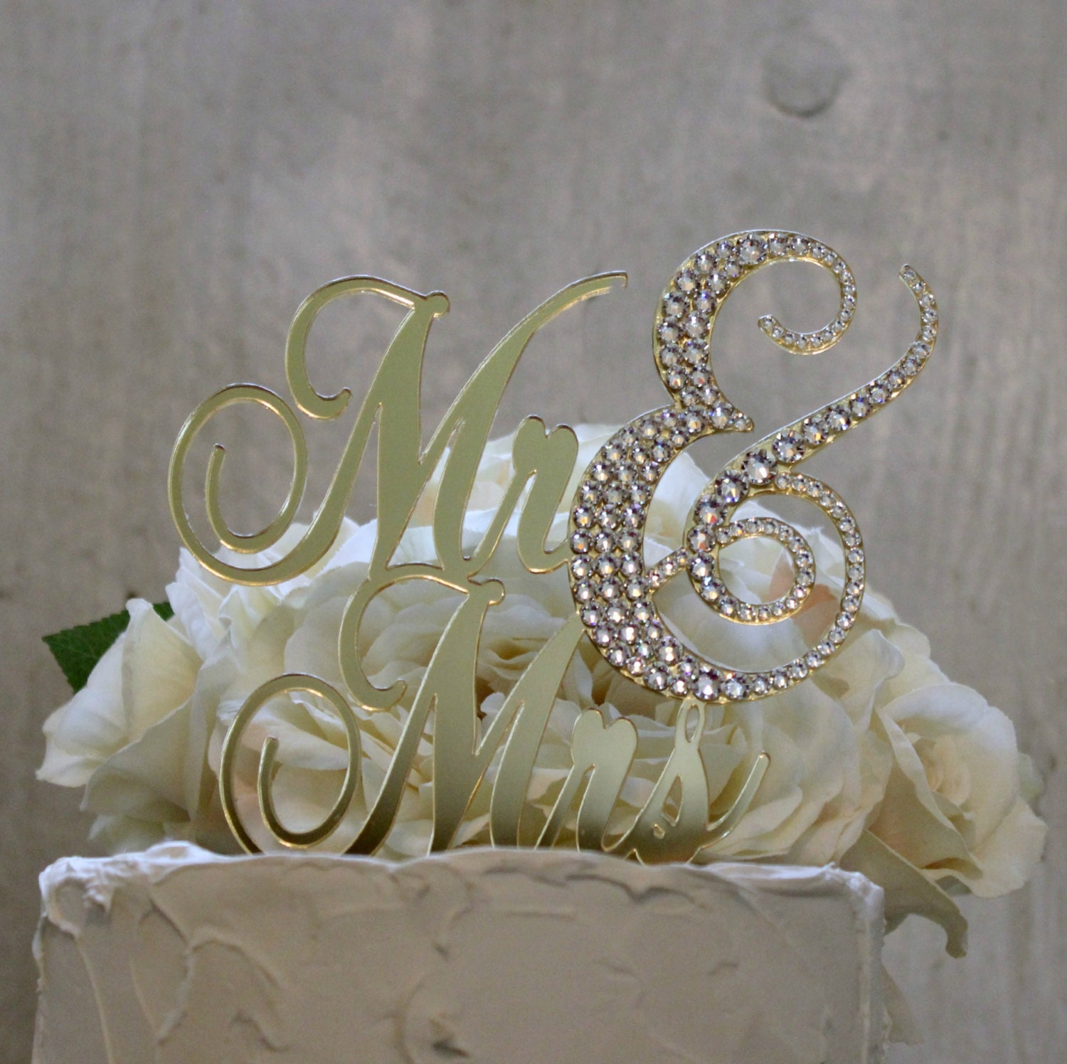 gold wedding cake toppers gold mr amp mrs wedding cake topper mr mrs cake topper with 14837