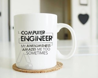 Christmas Gifts for computer engineers, engineer mug, engineer graduation,gift ideas for engineering students,funny engineering gift MU352