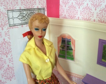 Amazing Blonde #4 Ponytail Barbie (Rare With Nipples)With Complete Outfit