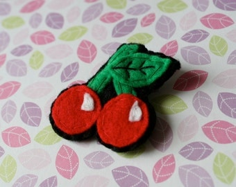 Cherry Brooch / Pin