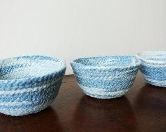 Rope Bowls - set of 3