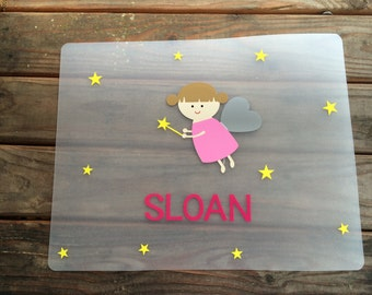Personalized Placemat for Child (Additional Designs Available)