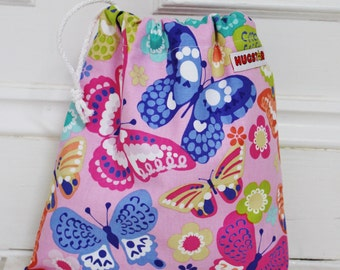 Girl's Butterfly Wash Bag