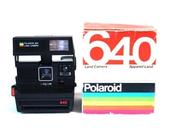 Polaroid Supercolor 640 + Original Packing and instructions book
