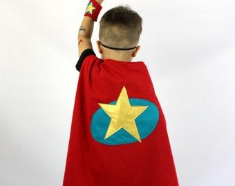 The SuperHero - STAR -  Handmade Children's Costume