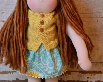 Meet Ella, a Waldorf-Inspired Doll