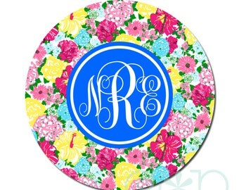 Personalized Retractable Badge Reel or Stethoscope ID Tag L06