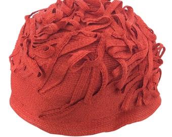 Vintage Makins New York Red Hat