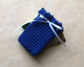 Crochet Gift Card Holder, Birthday Gift Card Holders, Blue, Red, More Colors Available
