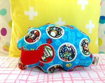 Tooth Pillow, Fairy Pillow, Yokai Watch Pillow, Tooth Fairy, Tooth Fairy Pillow, Boy Tooth Pillow, Gift Idea Boy