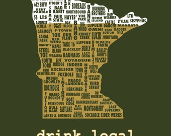 2016 Drink Local-Minnesota Beer T-shirt