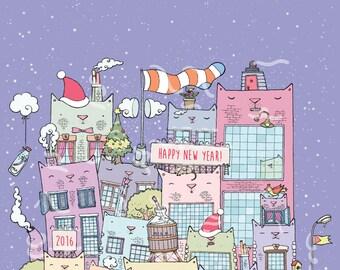 Cat York City / New Year edition