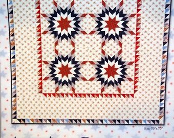 American Banner Rose By Minick & Simpson Quilt Pattern Project Leaflet Undated