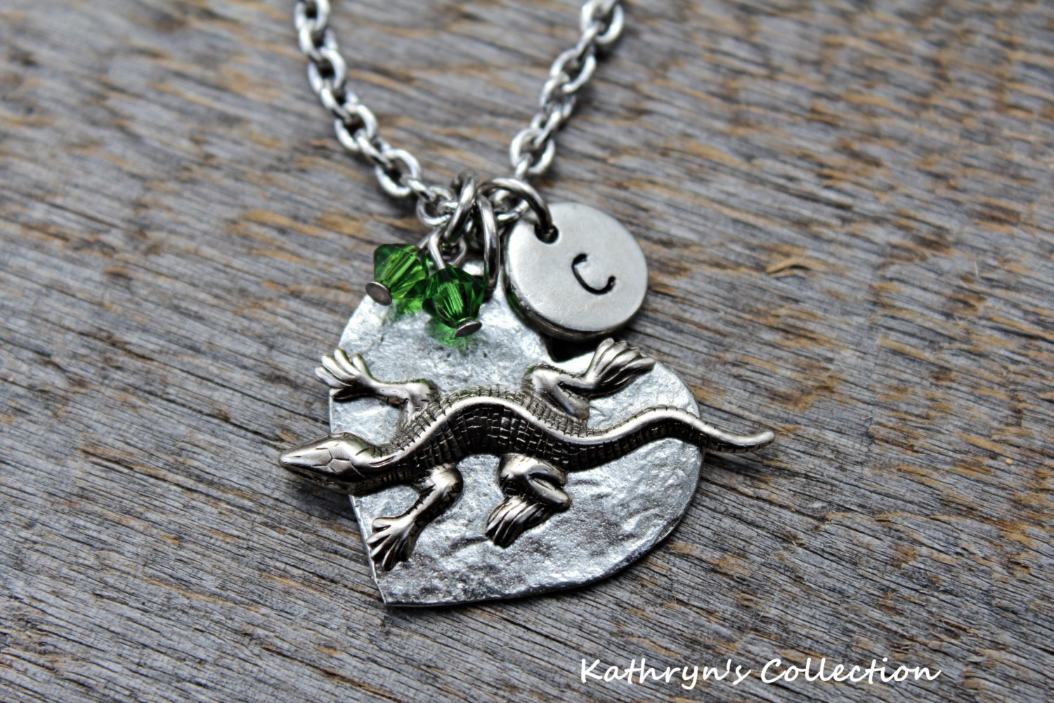 lizard necklace lizard jewelry pet lizard pet salamander