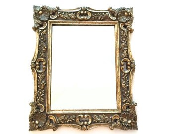 gilded mirrors etsy