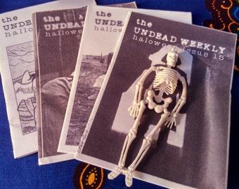 Halloween zine, The Undead Weekly