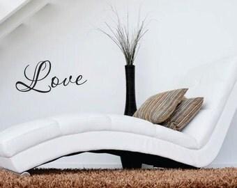 Love Vinyl Wall Decal - Prayer Room - Vinyl Wall Decal - Window Decals - Prayer Closet - Vinyl Wall Decals - Living Room - Den