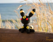 Gallery For > Umbreon Plush Etsy