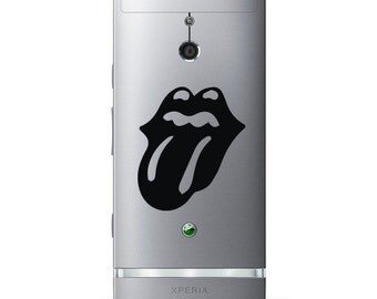 Rolling Stones Tongue Band Logo Bumper/Phone/Laptop Sticker (AS11087)