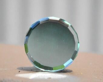 Glass knob/glass mirror knob/round glass knob/round mirror knob/reflective knob/decorative knob/glass cabinet knob/glass drawer pull/handle