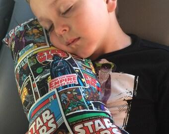 Star Wars Child's Travel Pillow, Booster Seat Pillow, Seat Belt Pillow