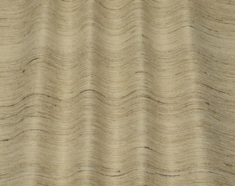 """Natural Color Tassah/Noil 100% Raw Silk Fabric, 54"""" Wide, By The Yard (WT-205)"""