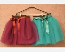 Baby Tutu skirt tulle skirt baby pettiskirt tutu skirt toddler skirt christmas outfit mermaid costume kids christmas outfit baby shower gift
