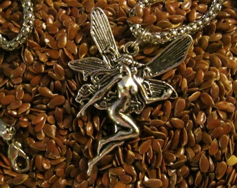 Wood Nymph Faerie Necklace Free Shipping in the U.S.