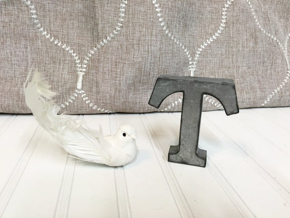 metal letters home decor metal letters letter t 4 galvanized metal by theshabbystore 23627 | il 570xN.884910055 q3jc