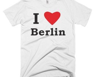 I Love Berlin T-shirt Bowie