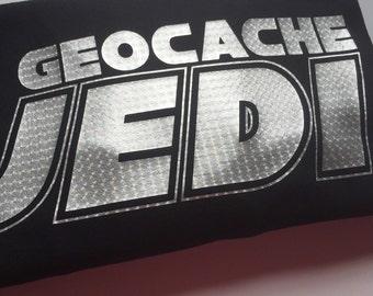 Geocache Shirt - Geocache Jedi - Jedi T-Shirt - Geocaching Shirt - Geocacher Tee - Geocache Gift - Gift for Dad - Geocaching T-Shirt