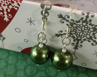Tree Green Baubles