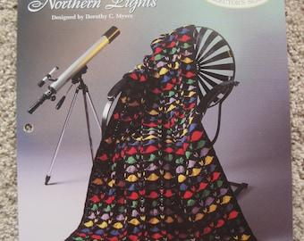 Crochet Leaflet - Northern Lights - Vintage 1994