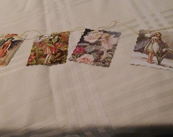 Fairy book bunting 1