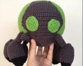 Wreck-It-Ralph Baby Cybug Amigurumi Made to Order