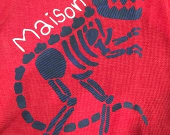 DIY Iron-On Name for Kids' Shirts