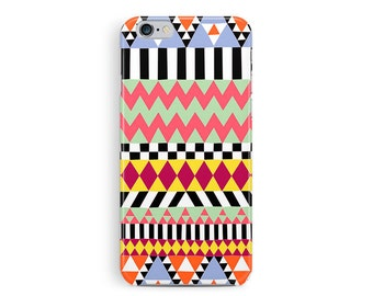 Black Friday, iPhone 6 Case, Aztec iPhone 6 case, Boho Chic, Phone cover, Colourful phone case, Geometric iphone case, iphone 6 case pattern