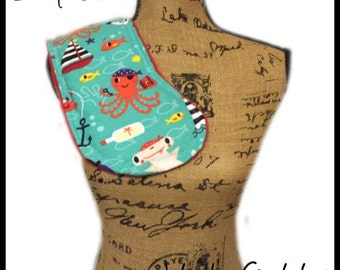Baby Burp Cloth Sewing Pattern - Instant Download Digital Baby Toddler Burp Diaper Clothes
