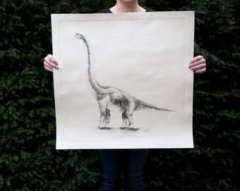 Brachiosaurus etch