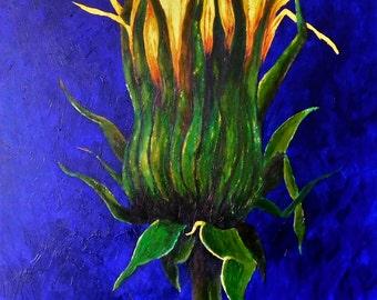 "Felidae. Original Oil Painting. 24"" X 30"""
