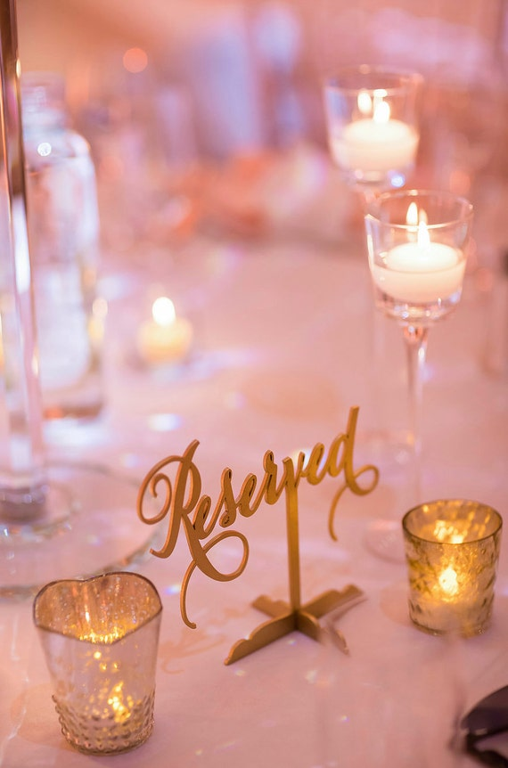 Reserved Table Sign, Reserved Sign, Reserved Sign for Wedding, Wedding Reserved Sign, Reserved for Family, Reserved Wedding Sign,