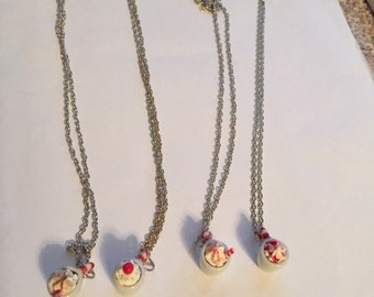 Cup of Peppermint Coffee Necklaces!!