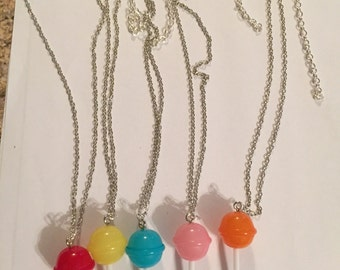 Lollipop Necklaces!