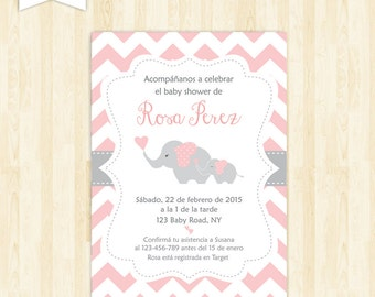 Spanish Invitation Etsy